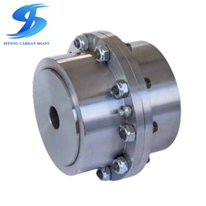 Drum Gear Coupling for Wood Industry