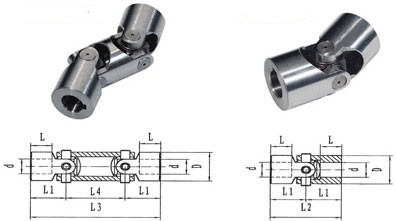 drawings of Universal Joint Shaft for Cars