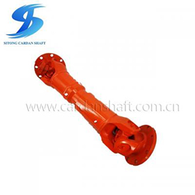 Flange cardan shaft