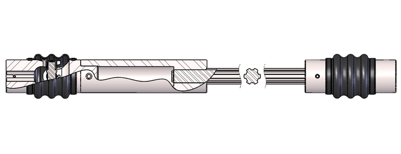 telescopic drive shafts